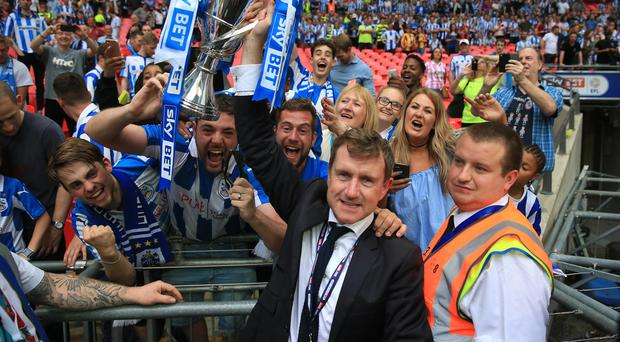 Huddersfield chairman Dean Hoyle steered the club to the cash-rich Premier League with one of the lowest budgets in the Championship