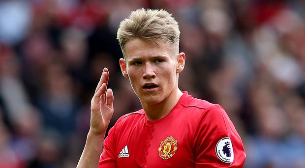 Scott McTominay made his Manchester United breakthrough at the end of last season