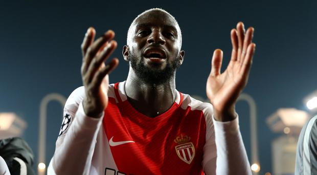 French midfielder Tiemoue Bakayoko appears close to signing for Chelsea from Monaco