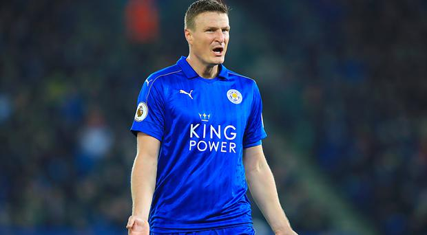 Robert Huth will miss eight weeks of action following ankle surgery