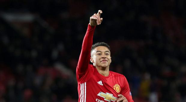 Jesse Lingard is aiming high with Manchester United