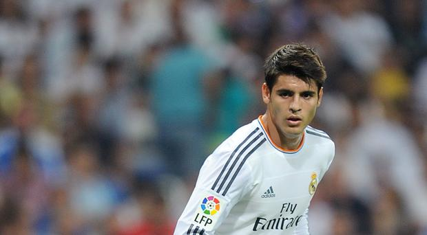 Alvaro Morata is undergoing a medical at Chelsea ahead of his proposed transfer from Real Madrid