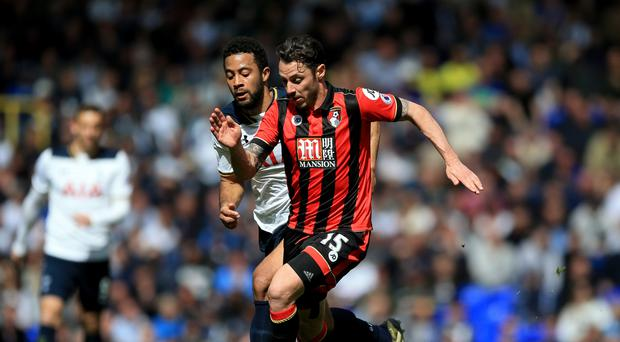 Bournemouth's Adam Smith joined the club from Tottenham