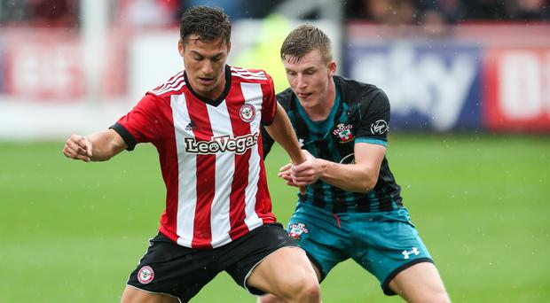 Southampton's Matt Targett, pictured right, has impressed during pre-season