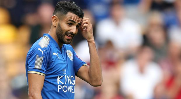 Riyad Mahrez is keen to leave Leicester this summer