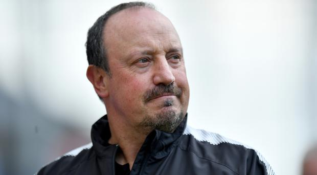 Newcastle manager Rafael Benitez is suffering transfer window frustration