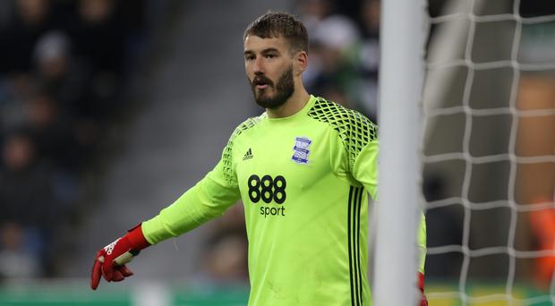 Burnley sign Adam Legzdins from Birmingham City