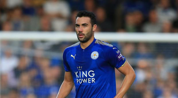 Leicester midfielder Vicente Iborra has picked up a groin injury