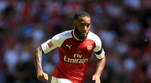 Alexandre Lacazette moved to Arsenal from Ligue 1 side Lyon
