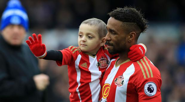 England forward Jermain Defoe, who is set to make his Bournemouth debut in the Premier League opener against West Brom, developed a close-bond with terminally-ill football mascot Bradley Lowery