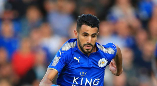 Leicester's Riyad Mahrez training hard despite Roma interest - Wes Morgan