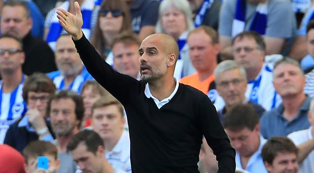Pep Guardiola's Manchester City opened their Premier League account at the first opportunity
