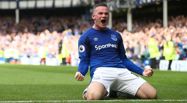 Wayne Rooney made a match-winning contribution as Everton overcame Stoke