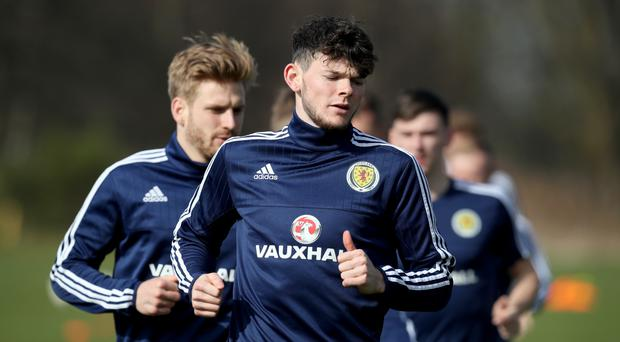 Oliver Burke has been linked with a move back to England