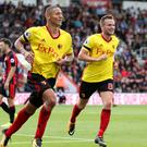 Richarlison, left, scored Watford's opener