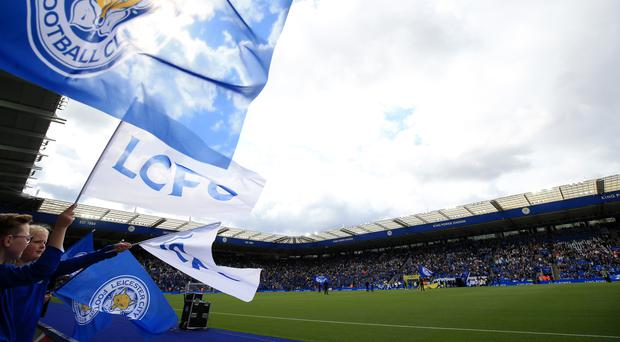 Two Leicester fans were arrested during the win over Brighton