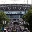 Tottenham will play their home matches at Wembley this season as their new ground is completed.