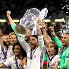 Real Madrid are the holders of the Champions League. The draw for the 2017-18 group stage takes place in Monaco on Thursday