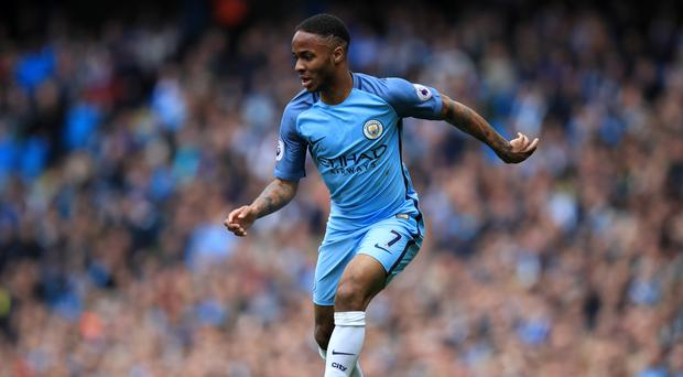 Pep Guardiola believes Raheem Sterling, pictured, can score more goals this season