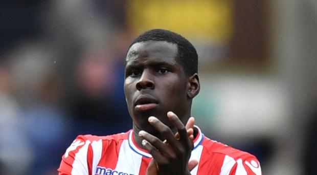 Kurt Zouma joined Stoke over the summer on a season-log loan from Chelsea