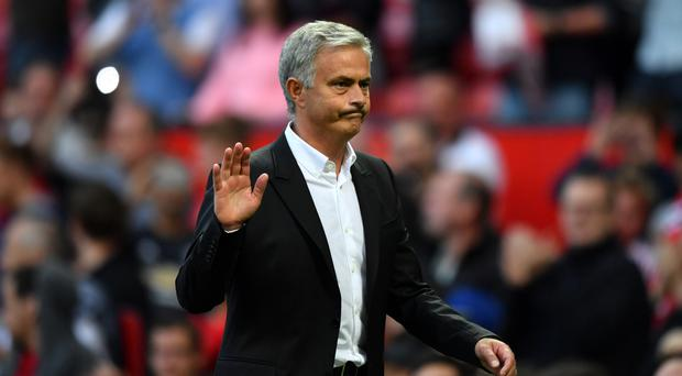 Jose Mourinho's Manchester United have scored 10 times so far this term