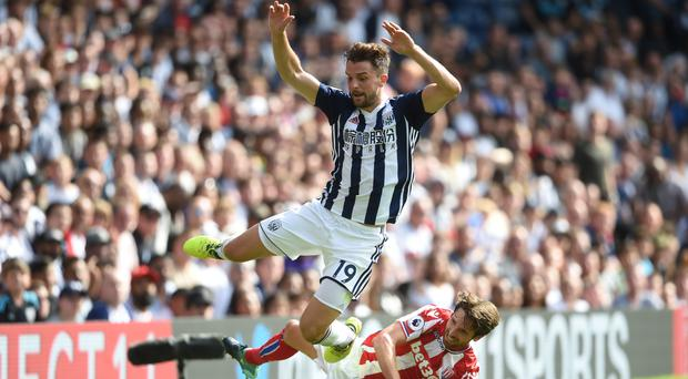 Jay Rodriguez, pictured top, scored the opener for West Brom