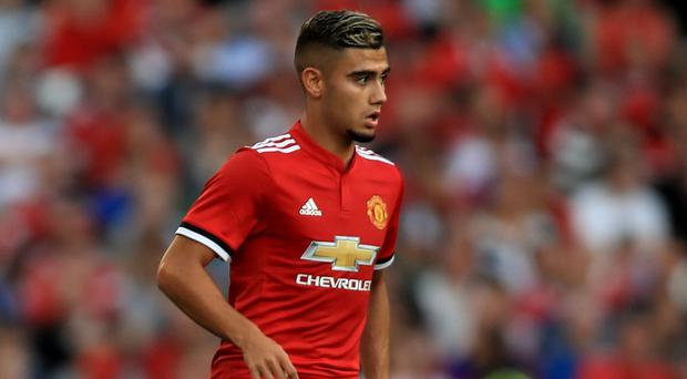 Andreas Pereira has been with Manchester United since the age of 16