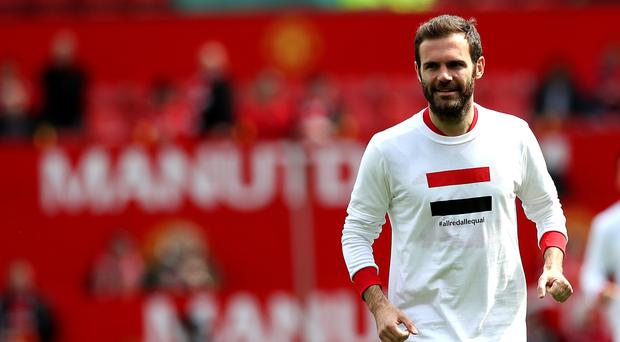 Juan Mata announced his Common Goal charity project last month