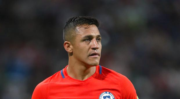 Arsenal's Alexis Sanchez played in two Chile defeats during the international break.