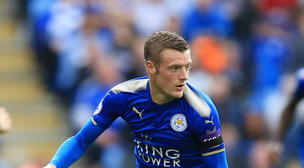 Leicester's Jamie Vardy turned down a move to Arsenal last year.