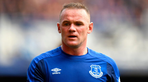 In the dock: Wayne Rooney will be punished by Everton