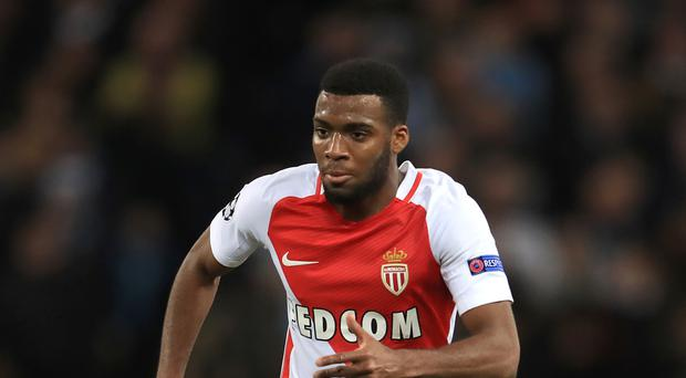 Monaco midfielder Thomas Lemar is still being chased by Arsenal