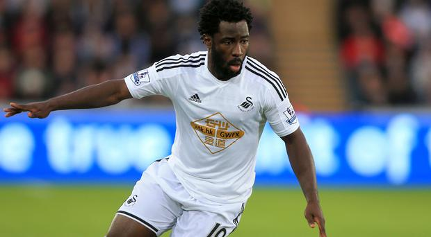 Wilfried Bony is determined to shine in a Swansea shirt again