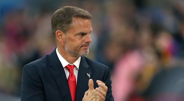 New Crystal Palace manager Frank de Boer has found his future under the spotlight after starting the season with three Premier League defeats