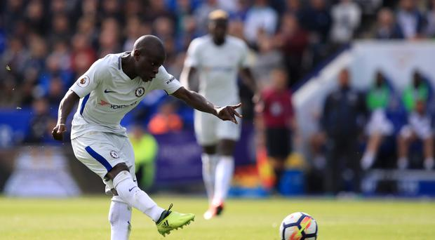 Former Leicester midfielder N'Golo Kante scored Chelsea's winner at the King Power Stadium