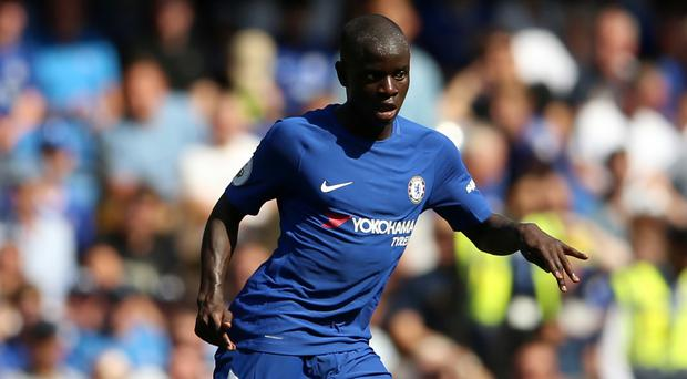 N'Golo Kante starred at the King Power Stadium - for Chelsea this time