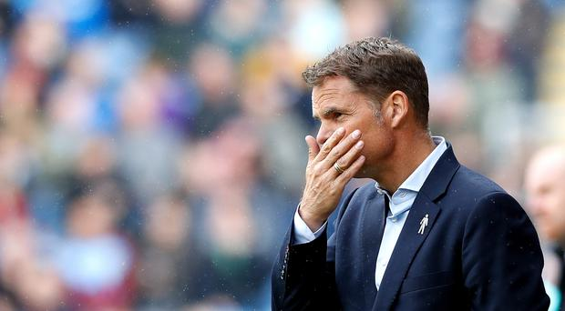 Defeat at Burnley ramps up the pressure on Palace boss Frank de Boer