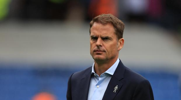 Crystal Palace suffered their fourth straight Premier League defeat under Frank de Boer