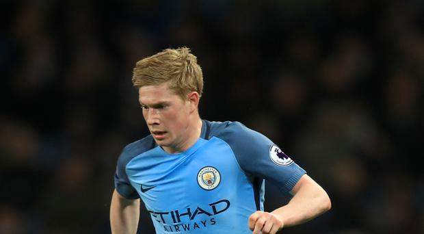 Kevin De Bruyne helped Manchester City to a 5-0 win over Liverpool
