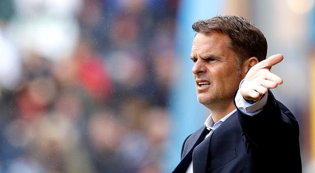 Frank de Boer has been sacked