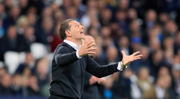 West Ham delivered a home win for their manager Slaven Bilic on his 49th birthday