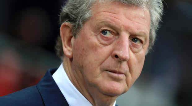 Roy Hodgson, pictured, is expected to replace Frank de Boer as Palace boss
