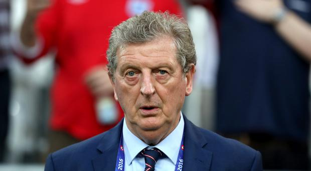 Former England manager Roy Hodgson is in talks to succeed Frank de Boer at Crystal Palace