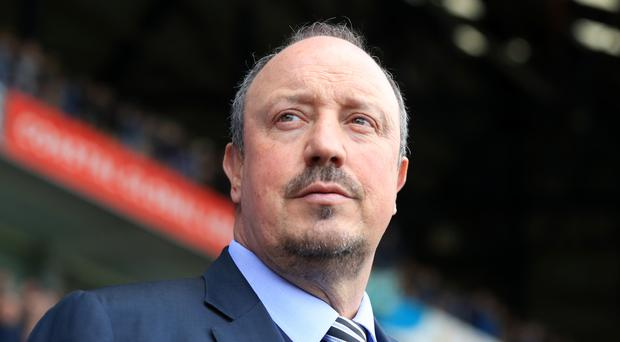 Newcastle manager Rafael Benitez is expected to return to the dug-out on Saturday