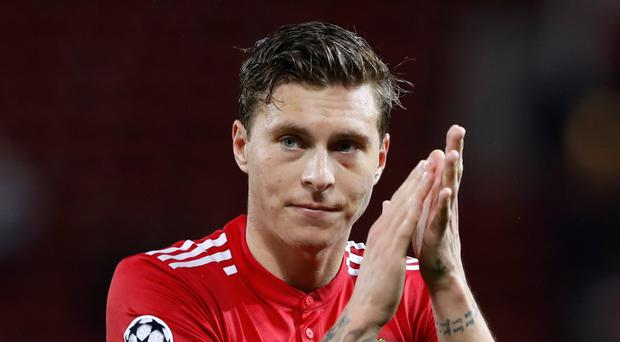 Manchester United's Victor Lindelof enjoyed his Old Trafford bow