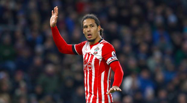 Virgil van Dijk is back in contention for Southampton