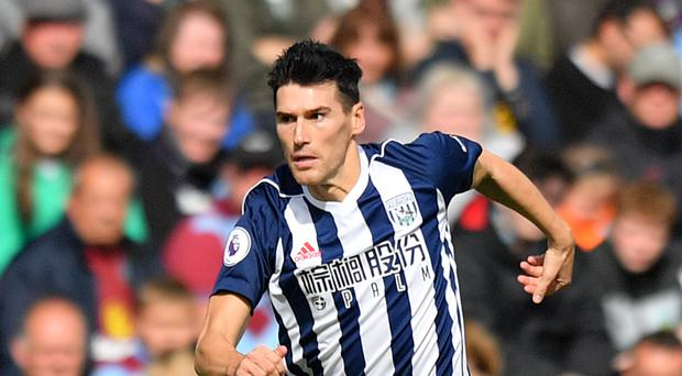 Gareth Barry is still going strong for West Brom