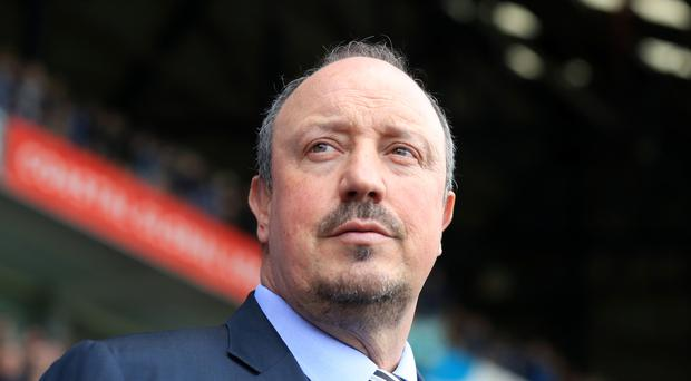 Manager Rafael Benitez will be back in the Newcastle dugout this weekend