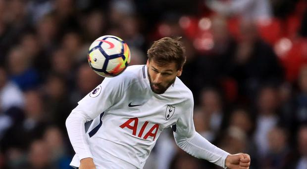 Fernando Llorente came on as a substitute against Swansea on Sunday.