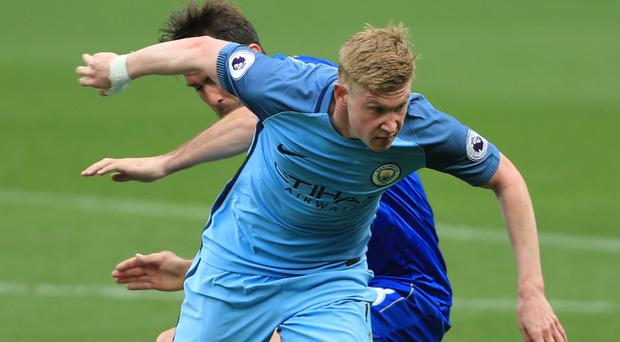 Manchester City's Kevin De Bruyne is set for a pay rise